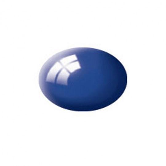 Aqua Color, Ultramarine Blue, Gloss, 18ml, RAL 5002