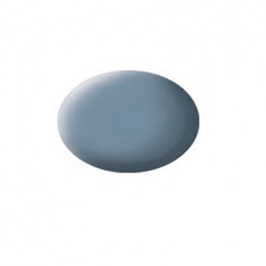 Aqua Color Grau, matt, 18ml, RAL 7000