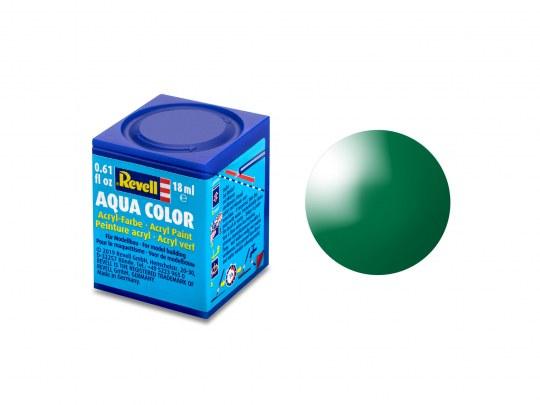 Aqua Color Smaragdgrün, glänzend, 18ml