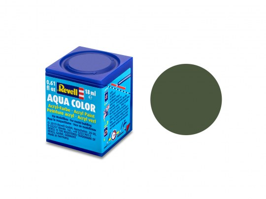 Aqua Color Bronzegrün, matt, 18ml, RAL 6031
