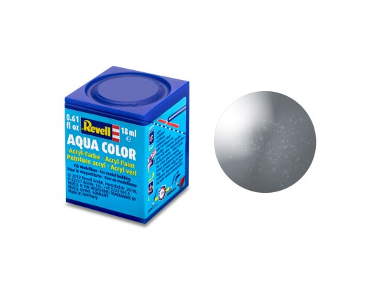 Aqua Color Eisen, metallic, 18ml