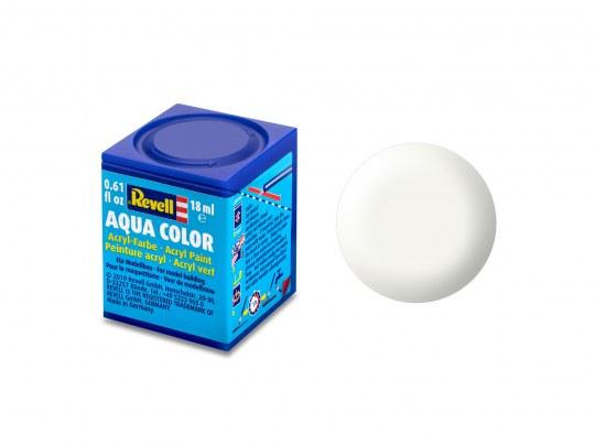 Aqua Color Weiß, seidenmatt, 18ml, RAL 9010