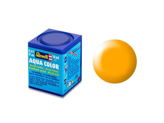 Aqua Color Lufthansa-gelb, seidenmatt, 18ml