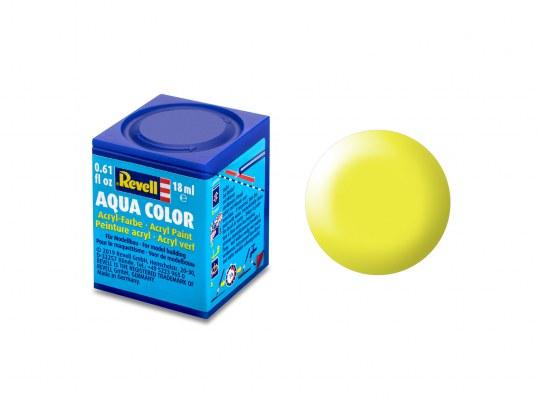 Aqua Color Leuchtgelb, seidenmatt, 18ml