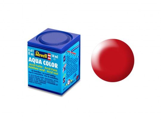 Aqua Color Leuchtrot, seidenmatt, 18ml