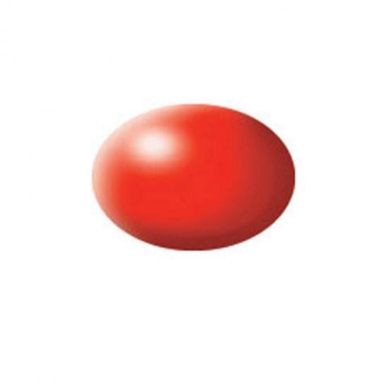 Aqua Color, Luminous Red, Silk, 18ml