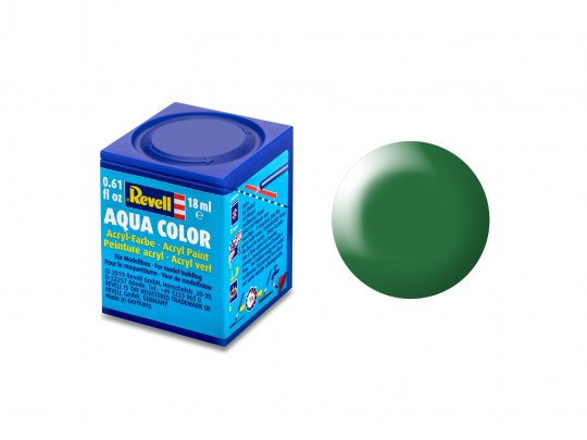 Aqua Color Laubgrün, seidenmatt, 18ml