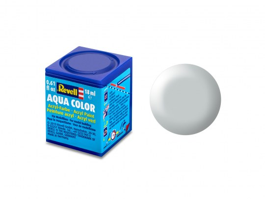 Aqua Color Hellgrau, seidenmatt, 18ml