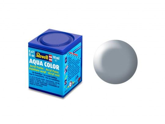 Aqua Color Gris satiné, 18ml, RAL 7001