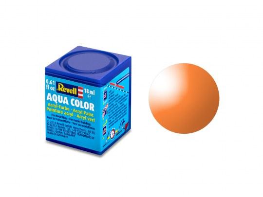 Aqua Color Orange, klar, 18ml