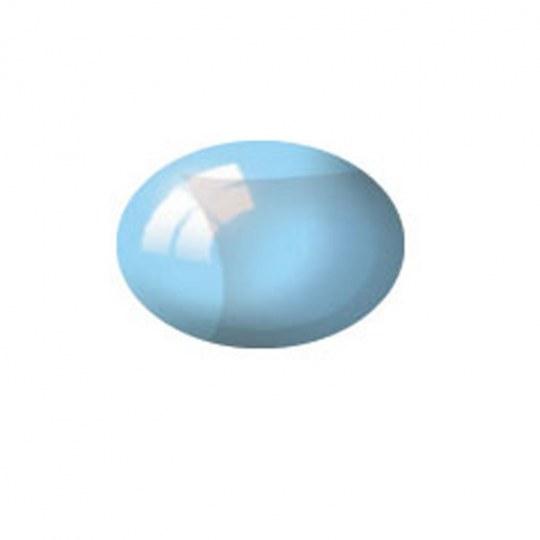 Aqua Color, Clear Blue, 18ml