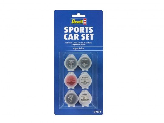 Farben-Set Sportwagen