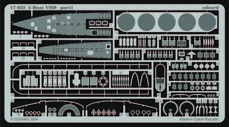 Eduard - U-Boat VIID für Revell Bausatz 05009