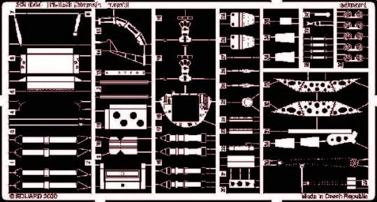 Eduard - Fi 156 Storch für Hasegawa/Revell Bausatz