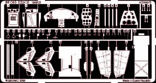 Eduard - MiG-15 für Trumpeter Bausatz