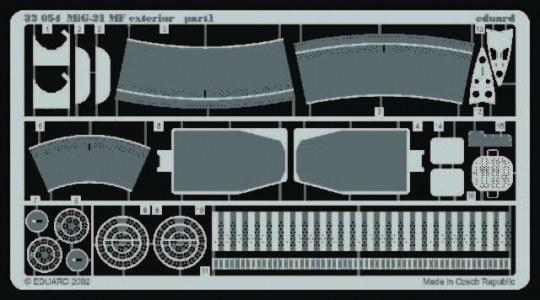 Eduard - MiG-21 MF exterior set für Trumpeter Bausatz