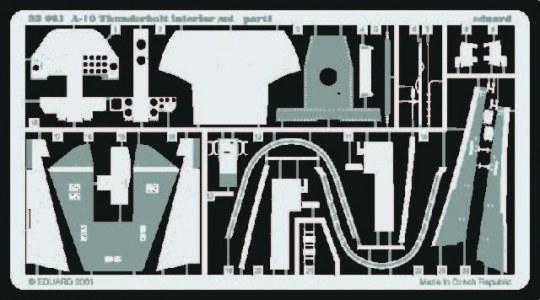 Eduard - A10 Thunderbolt Interior set für Trumpeter Bausatz