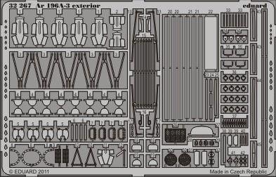 Eduard - Ar 196A-3 exterior for Revell
