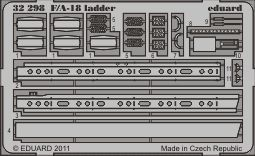 Eduard - F/A-18 ladder for Trumpeter