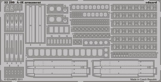 Eduard - A-4E armament for Trumpeter