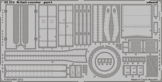 Eduard - II-2m3 exterior for Hobby Boss