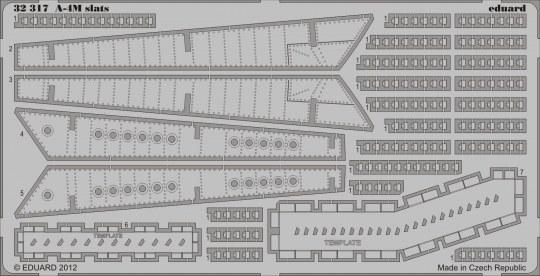 Eduard - A-4M slats for Trumpeter