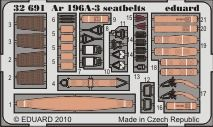 Eduard - Ar 196A-3 seatbelts for Revell