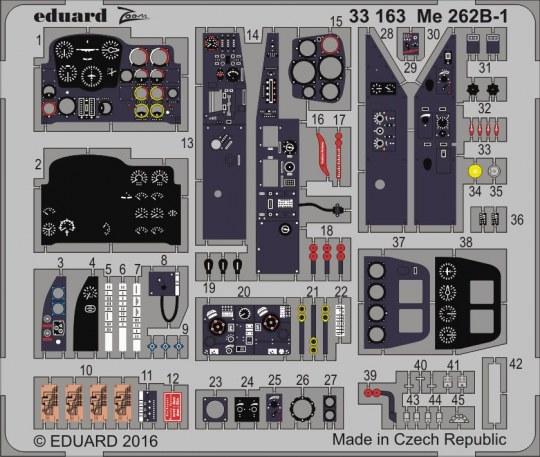 Eduard - Me 262B-1 for Revell