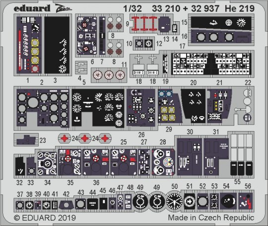 Eduard - He 219 for Revell