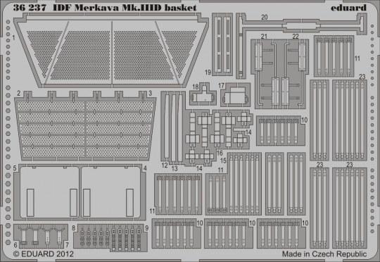 Eduard - IDF Merkava Mk.IIID basket f.Hobby Boss
