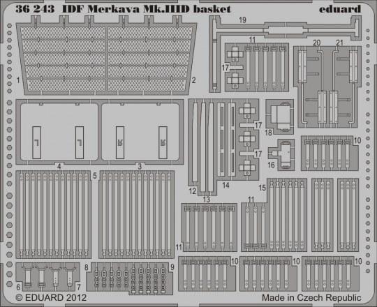 Eduard - IDF Merkava Mk.III D basket for Meng