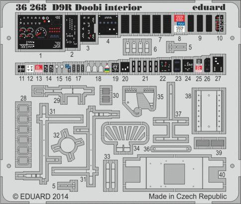 Eduard - D9R Doobi interior for Meng