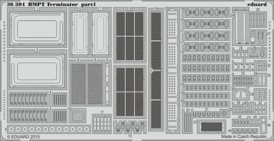 Eduard - BMPT Terminator for Meng