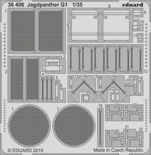 Eduard - Jagdpanther G1 for Meng