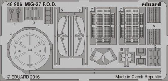 Eduard - MiG-27 F.O.D. for Trumpeter