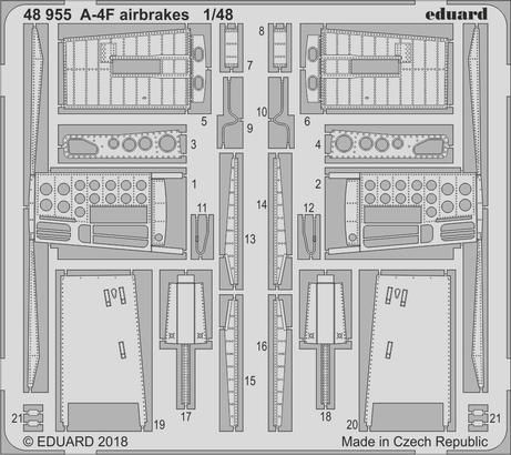 Eduard - A-4F airbrakes for Hobby Boss