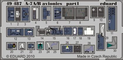 Eduard - A-7A/B avionics for Hobby Boss