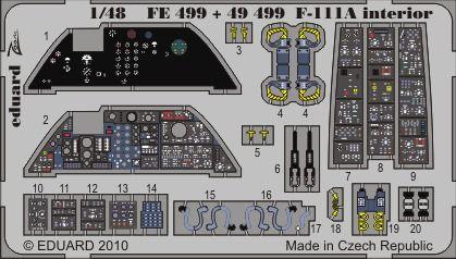 Eduard - F-111A interior S.A. for Hobby Boss
