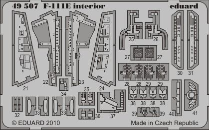 Eduard - F-111E interior S.A. for Hobby Boss