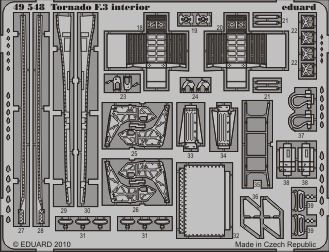 Eduard - Tornado F.3 interior S.A. for Hobby Boss