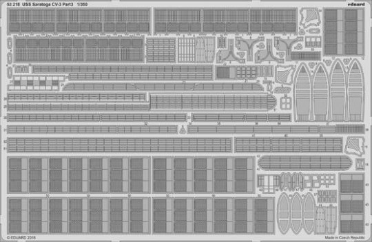 Eduard - USS Saratoga CV-3 pt.3 for Trumpeter
