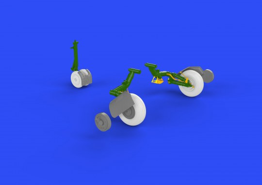 Eduard - MiG-23BN wheels for Trumpeter