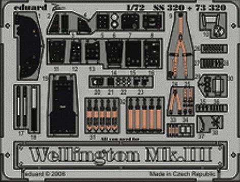 Eduard - Wellington Mk.III S.A. Trumpeter