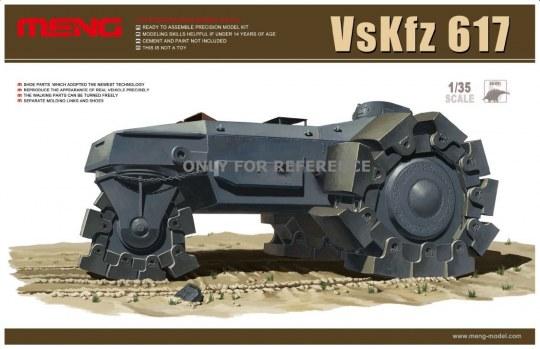 MENG-Model - VsKfz 617 Minenräumer