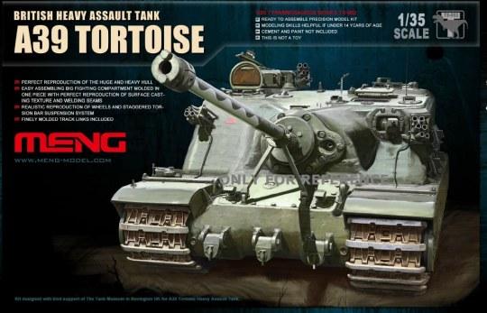 MENG-Model - British A39 Tortoise Heavy Assault Tank