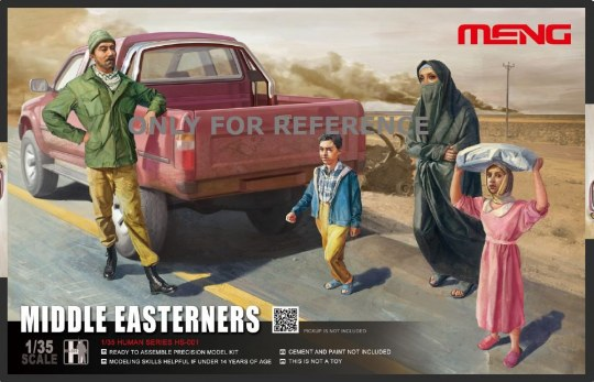 MENG-Model - Middle Easterns in the Street