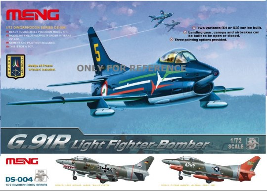 MENG-Model - G.91R Light Fighter Bomber