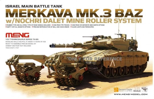 MENG-Model - Israel Main Battle Tank Merkava Mk.3 BAZ