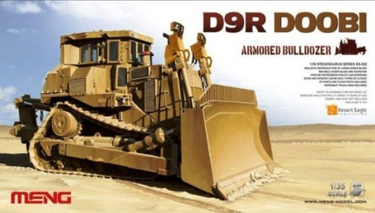 MENG-Model - D9R Armored Bulldozer