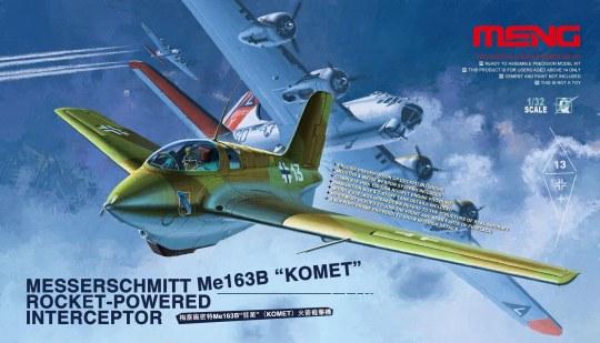 MENG-Model - Messerschmitt Me163B Komet Roket
